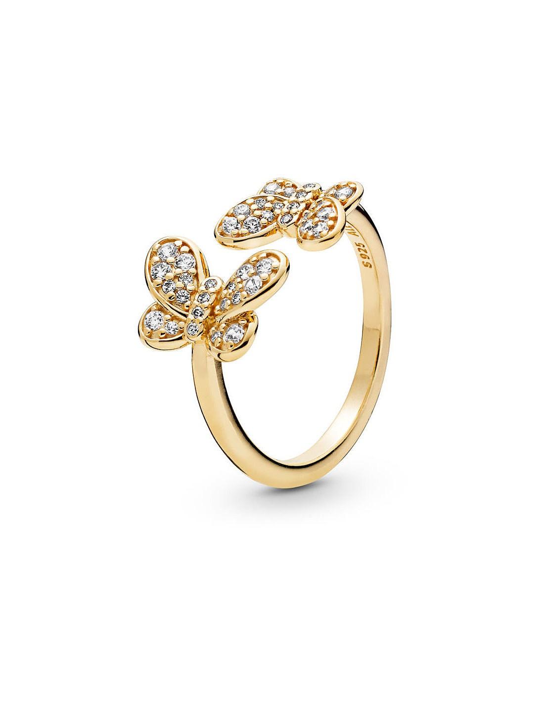 Anello Pandora Farfalle Prezioso Collezione Shine Misura Anello 54 14