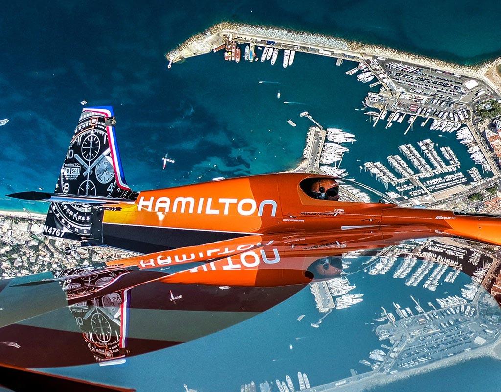 hamilton red bull air race